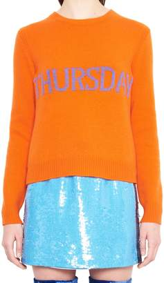 Alberta Ferretti 'raimbow Week' Sweater