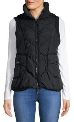 Gallery Crinkled Ribbed Vest