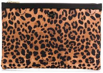 Dolce & Gabbana leopard print make up bag