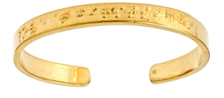 Erica Anenberg Braille Love at First Sight Cuff