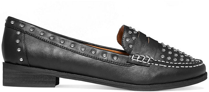 Barefoot Tess Warren Studded Penny Loafers