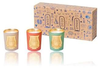 Cire Trudon Women's Odeurs D'Egypte Travel Candle Set