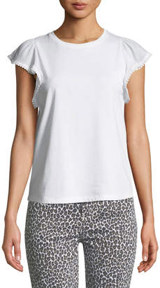 Kate Spade broome street flutter-sleeve top