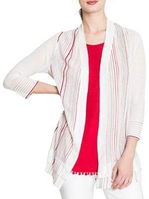 Nic+Zoe Festival Striped Cardigan