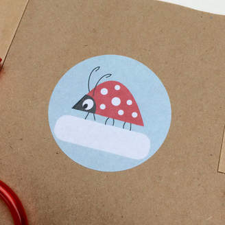 Ladybird Half Pint Home Labelling Stickers