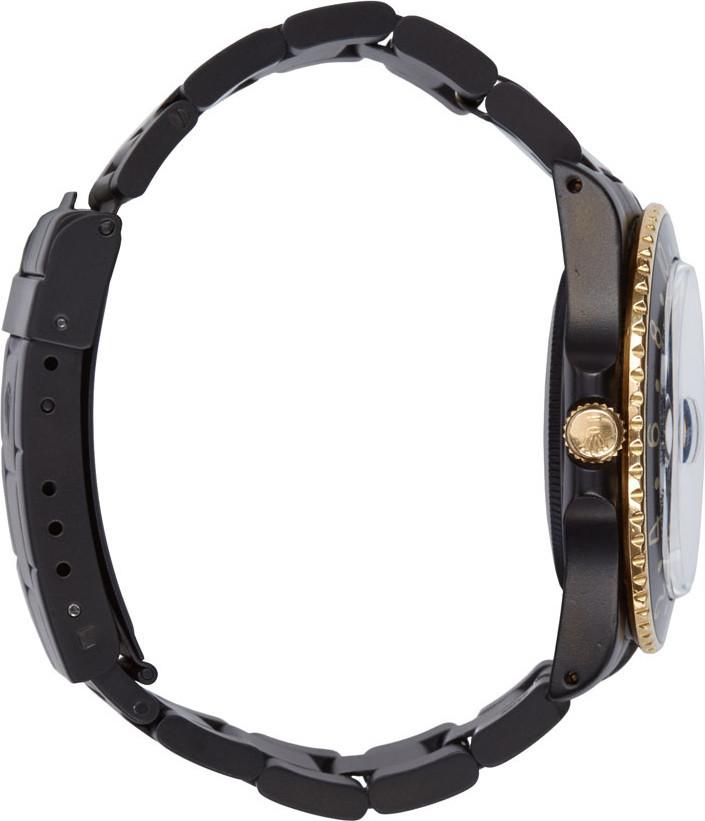 Black Limited Edition Matte Black & Gold Limited Edition Rolex GMT Master I 4