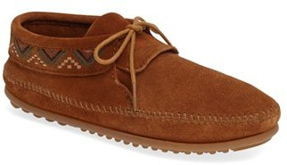 Women's Minnetonka Mosaic Embroidered Moccasin $57.95 thestylecure.com