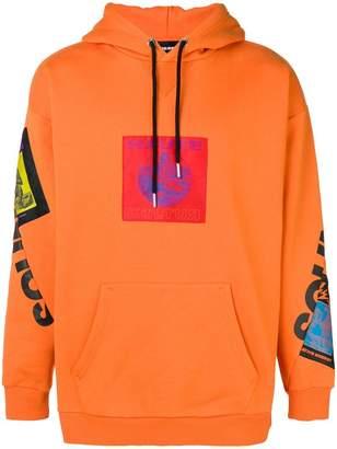 Diesel 'Haute' patch hoodie