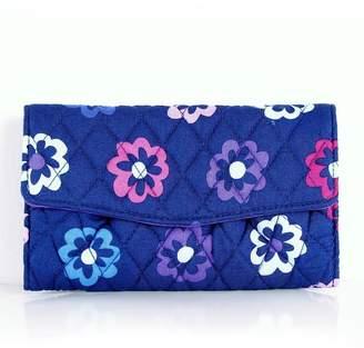 Vera Bradley Ellie Flowers Strap-Wallet