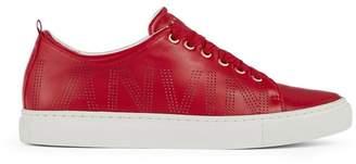 Lanvin Perforated Logo Sneaker