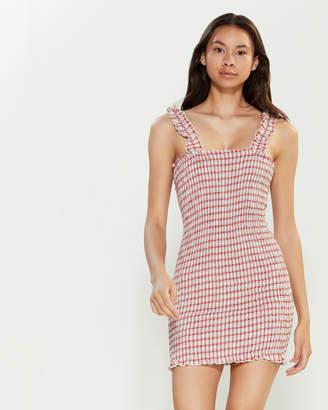 Emory Park Smocked Mini Tube Dress