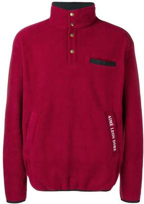 Leon Aimé Dore winter buttoned sweater
