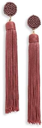 Panacea Nylon Tassel Earrings