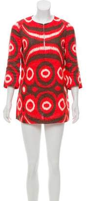 Tory Burch Linen Mini Dress