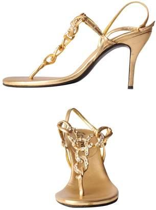 Chanel Leather flip flops