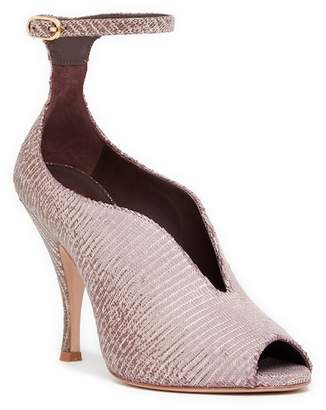 Bruno Magli Cali Peep Toe Ankle Strap Pump