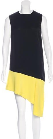 Balenciaga  Balenciaga Colorblock Asymmetrical Dress w/ Tags