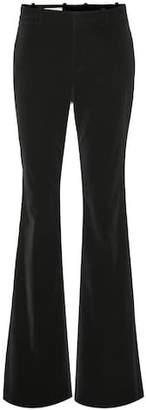 Gucci Velvet flared pants
