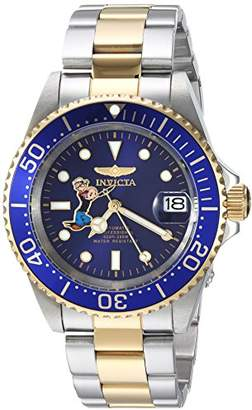 Invicta Men's 'Character Collection' Automatic Stainless Steel Casual Watch