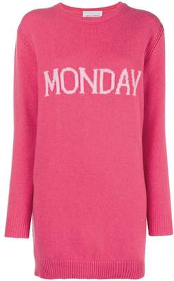 Alberta Ferretti Monday knit mini dress