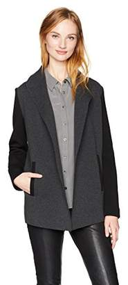 Calvin Klein Women's Open Front Jacket with Pockets