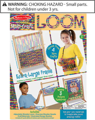 Melissa & Doug Kids' Multi-Craft Weaving Loom