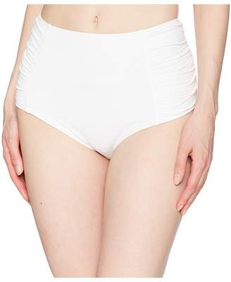 MICHAEL Michael Kors Solids High-Waist Bottom Women's Swimwear