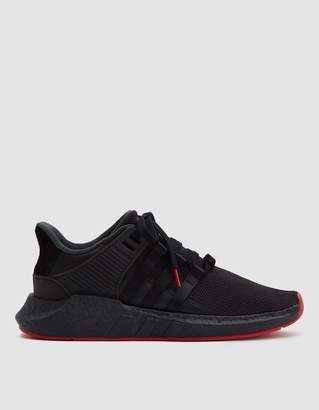 adidas EQT Support 93/17 Sneaker in Core Black