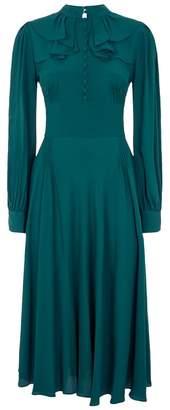 N°21 Ruffle Midi Dress
