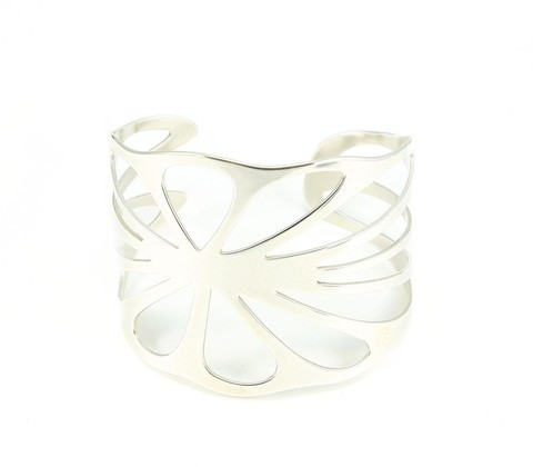 Salty Girl Jewelry Lotus Leaf Cuff Sterling
