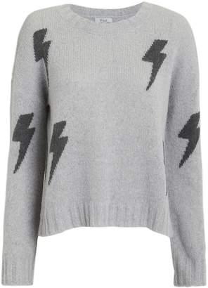 Rails Perci Grey Lightning Crewneck Sweater
