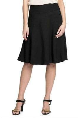 Nic+Zoe Flared Midi Skirt