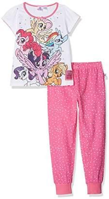 05cd4eb68fec My Little Pony Girl's Starry Starred Short Sleeve Pyjama Sets,(Manufacturer  Size: 2