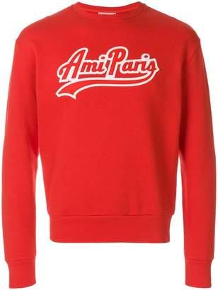 Ami Alexandre Mattiussi Sweatshirt With Ami Paris Patch