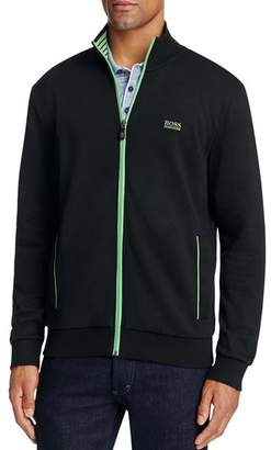 BOSS Skaz Contrast Trim Zip Sweatshirt