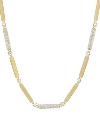 Nadri Solid Link Necklace, 16""