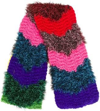 Faliero Sarti tinsel knitted scarf