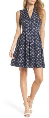Vince Camuto Fit & Flare Dress