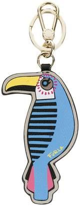 Furla owl key ring