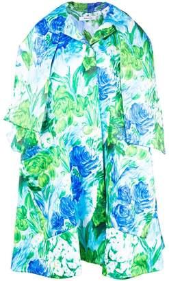 Richard Quinn floral print oversized coat