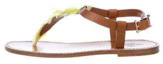 Valentino Flat Embellished Sandals