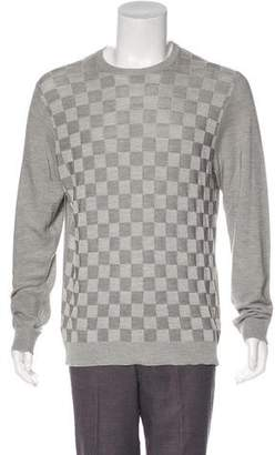 Louis Vuitton Damier Silk Sweater