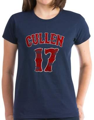 Cullen CafePress - 17 Edward Twilight - Womens Cotton T-Shirt