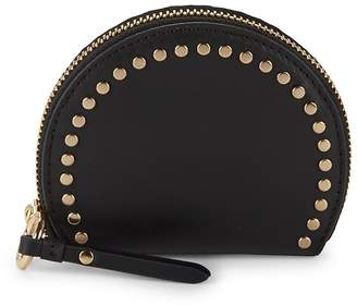 Vince Camuto Women's Elyna Domed Leather Coin Purse