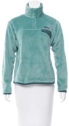 Patagonia Fleece Pullover Sweatshirt $75 thestylecure.com