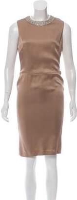 Ralph Lauren Sleeveless Embellished Dress