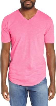 Goodlife Scallop Slub V-Neck T-Shirt