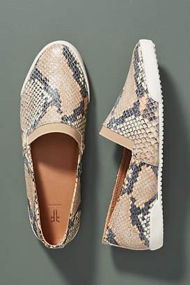 Frye Snake-Printed Melanie Slip-On Sneakers