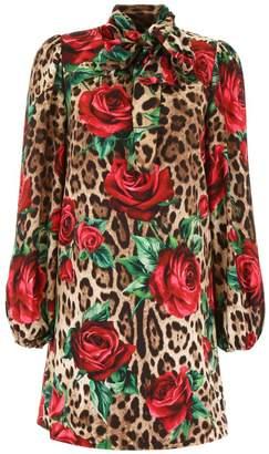 Dolce & Gabbana Dolce \u0026 Gabbana Printed Dress
