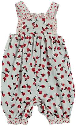 Stella McCartney Baby Girl's Ladybug Overall Bloomers